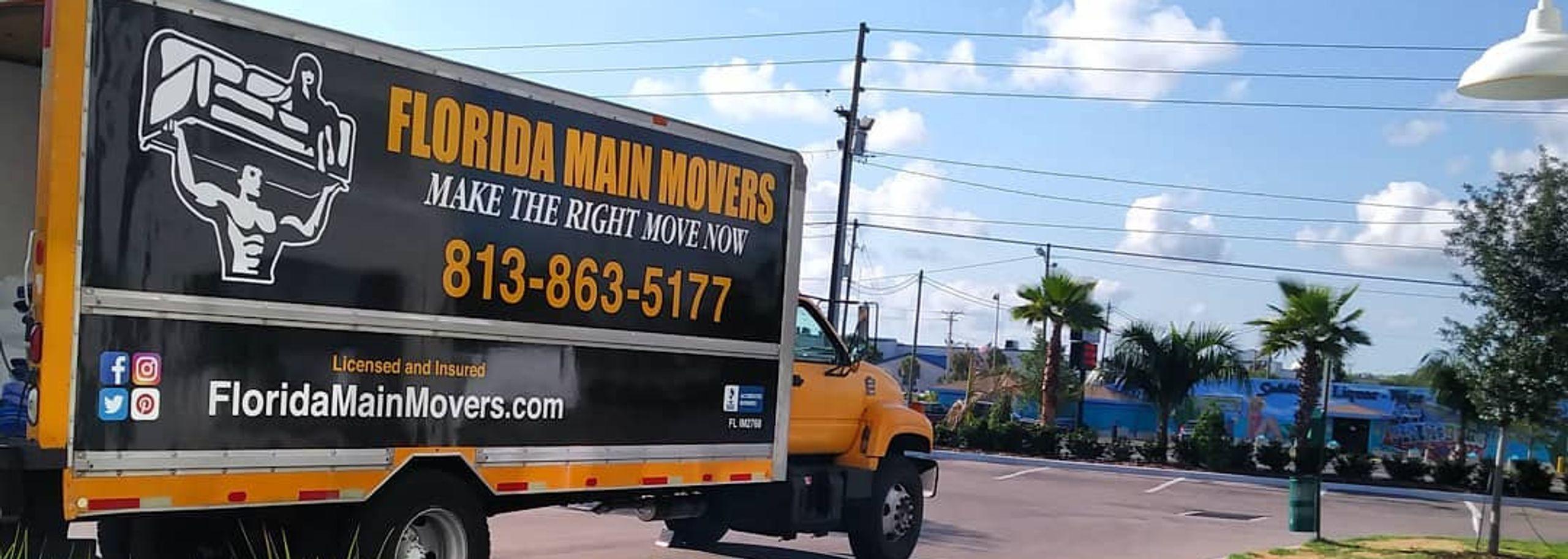 Florida Main Movers Truck