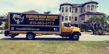Florida Movers Truck
