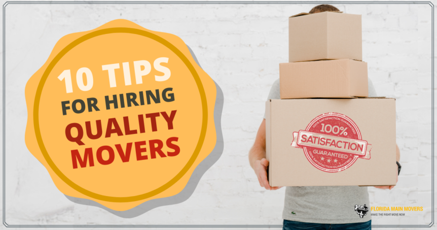 Tips for Hiring Movers