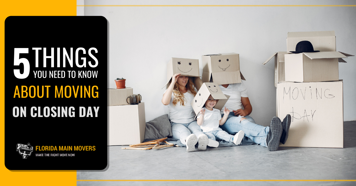 """Featured image for """"Everything You Should Know about Moving on Closing Day"""""""