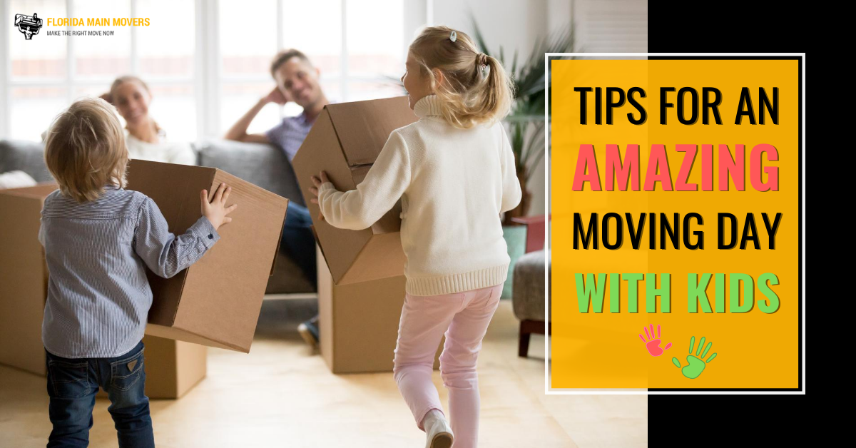 """Featured image for """"The Best Ways of Moving with Kids: 10 Tips and Tricks for an Amazing Moving Day"""""""