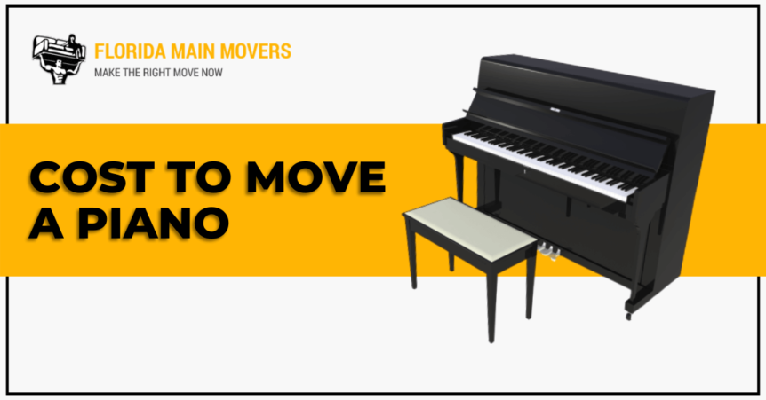 How Much Does it Cost to Move a Piano